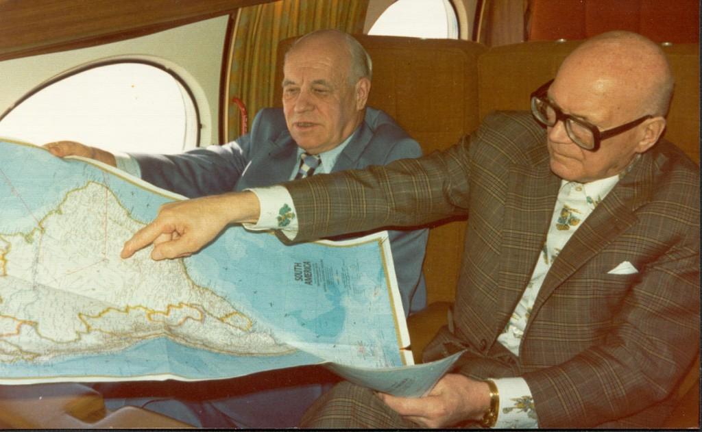 UKK matkalla Brasiliaan 1976
